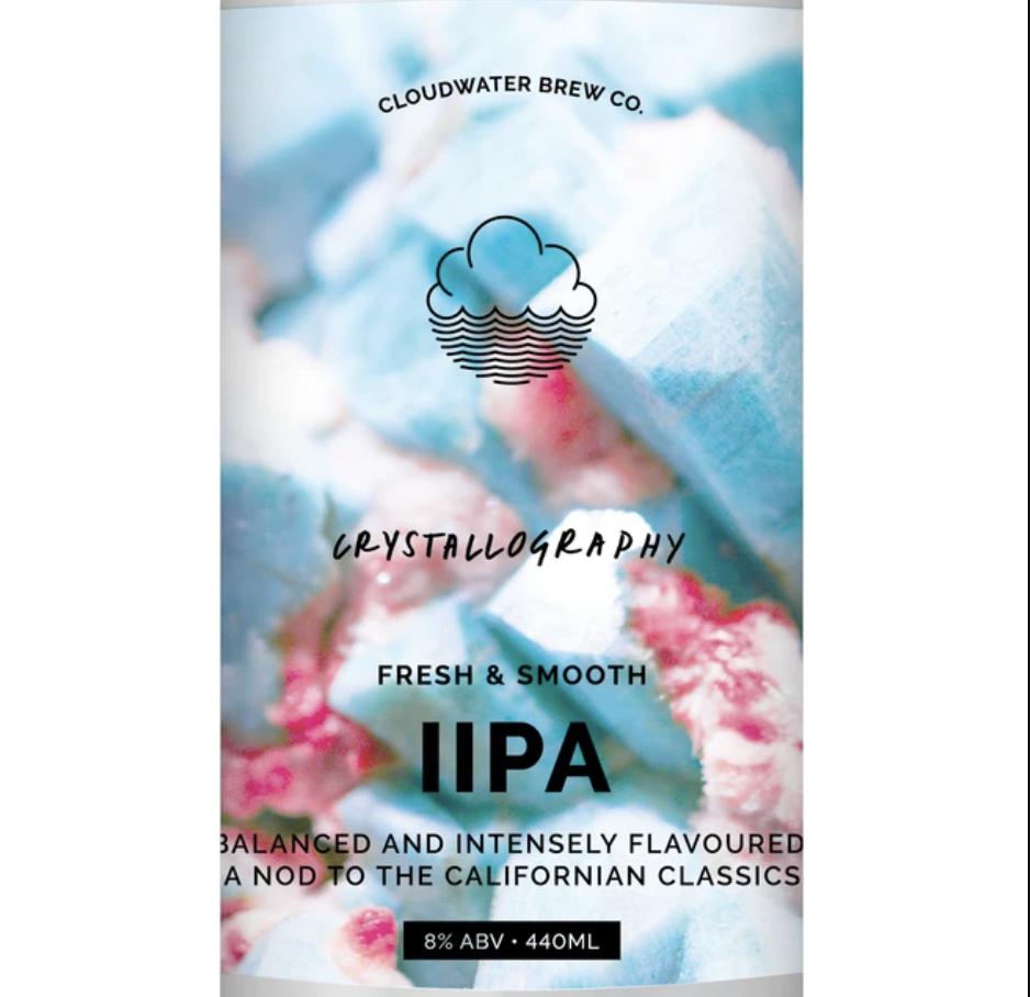 Cloudwater | Crystallography | West Coast DIPA 8% 440ml