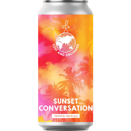 Lost & Grounded | Sunset Conversation | Tropical Sour 4.8% 440ml