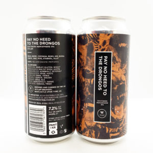 Wylam Brewery | Pay No Heed To The Drongos | NZ IPA 7.2% 440ml
