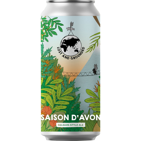 Lost & Grounded | Saison d'Avon | Belgian Style Ale 6.5% 440ml