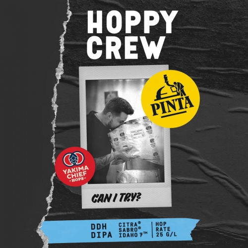 Browar PINTA | Hoppy Crew: Can I Try? | New England DDH DIPA 8.2% 500ml