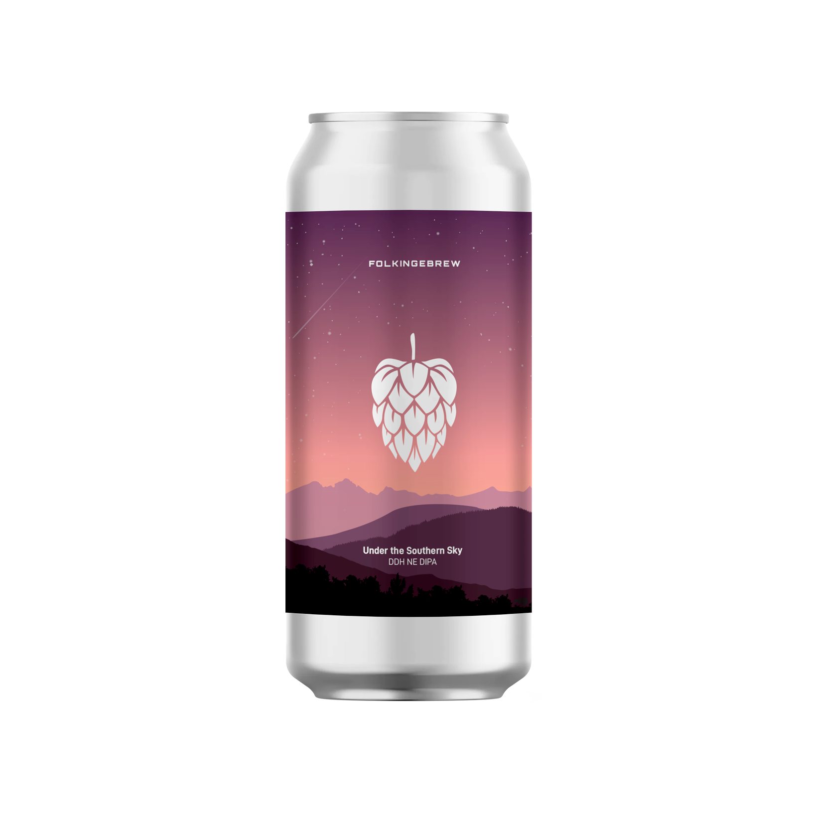 Folkingbrew | Under The Southern Sky | DDH New England Double IPA 8.1% 440ml