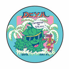 DEYA | Saturated In Galaxy | Single Hopped Dipa 8% 500ml