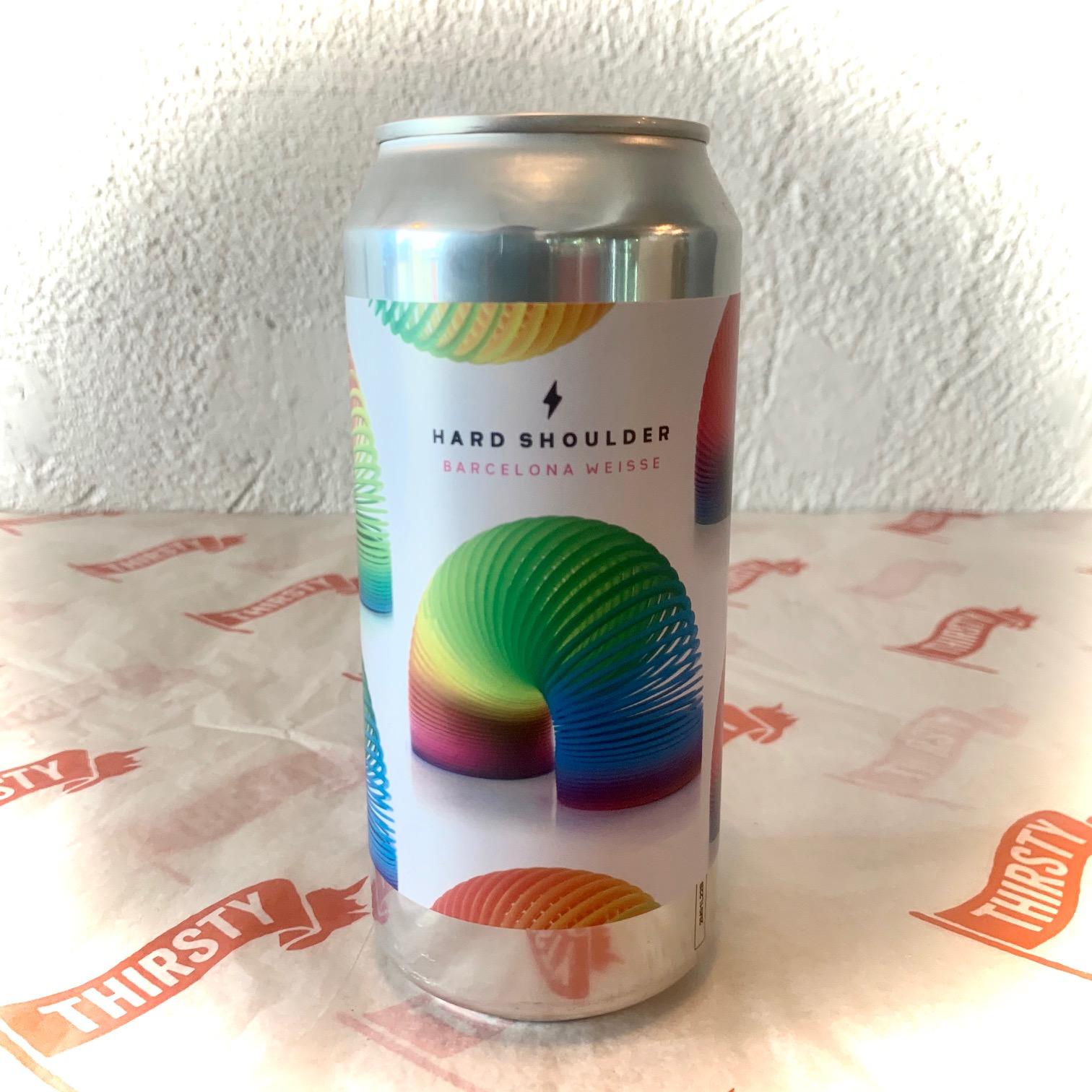 Garage Beer Co | Hard Shoulder | Tropical Barcelna Weisse 5.5% 440ml