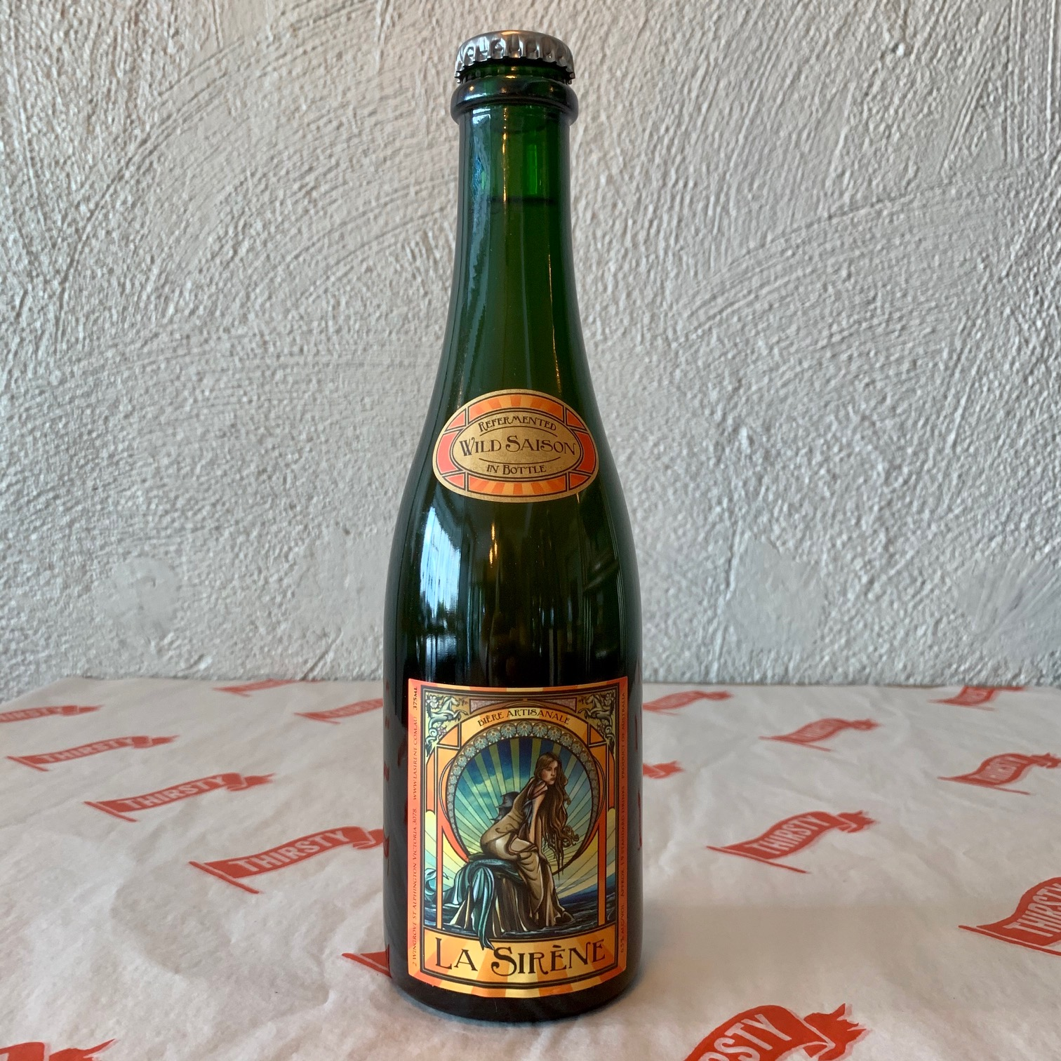 La Sirène Brewing | Wild Saison | 6.5% 375ml