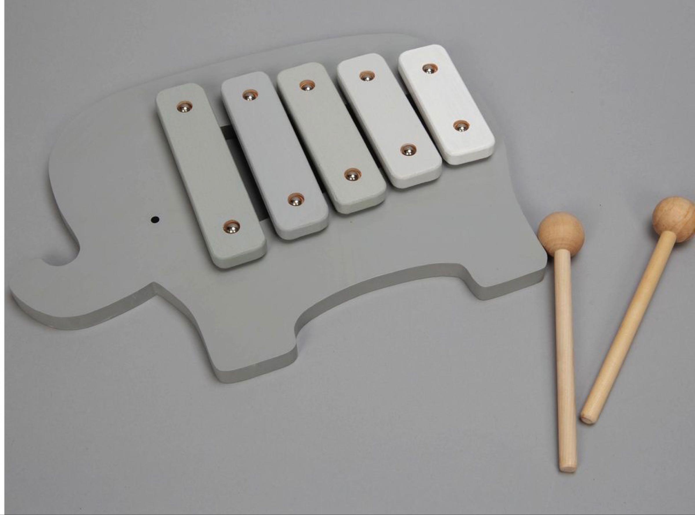 Bambino Wooden Toy Xylophone -Elephant