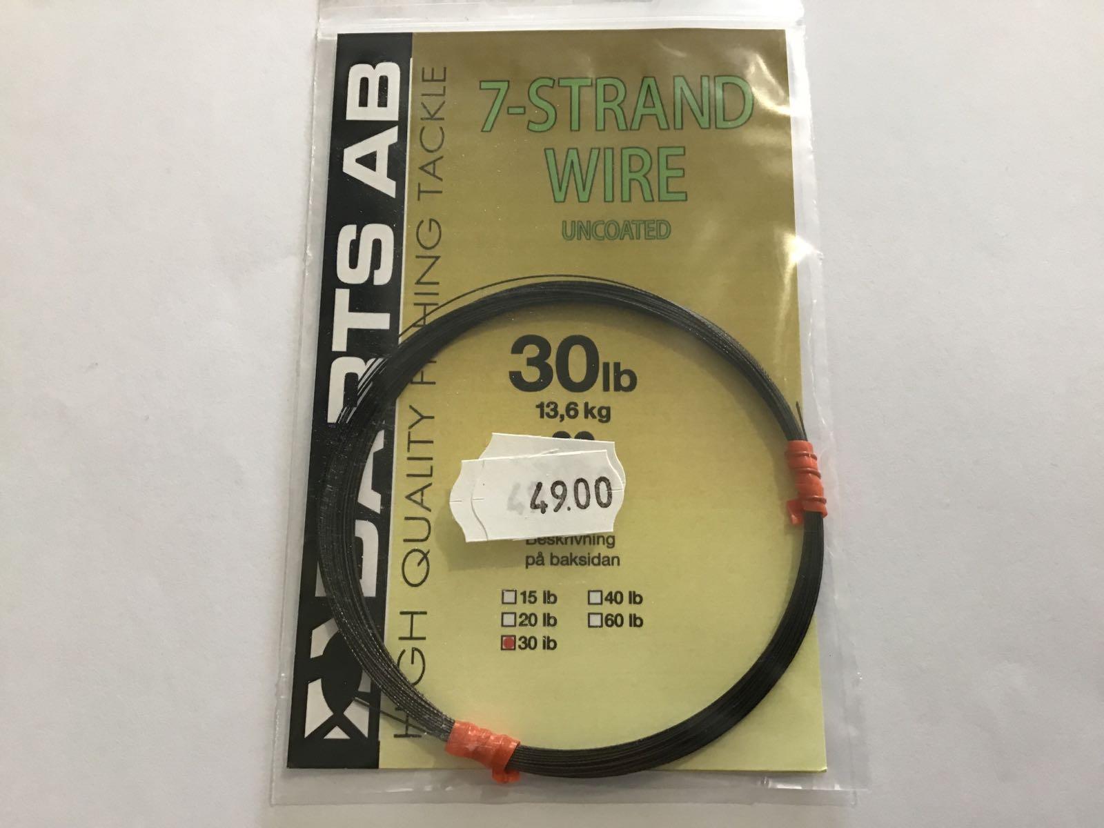 Darts 7-strand wire 30lb