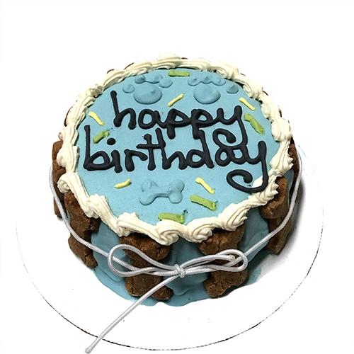 Birthday Cake - Apple & Peanut butter (Blue)