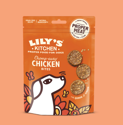 Chicken Bites treats - Lily's kitchen