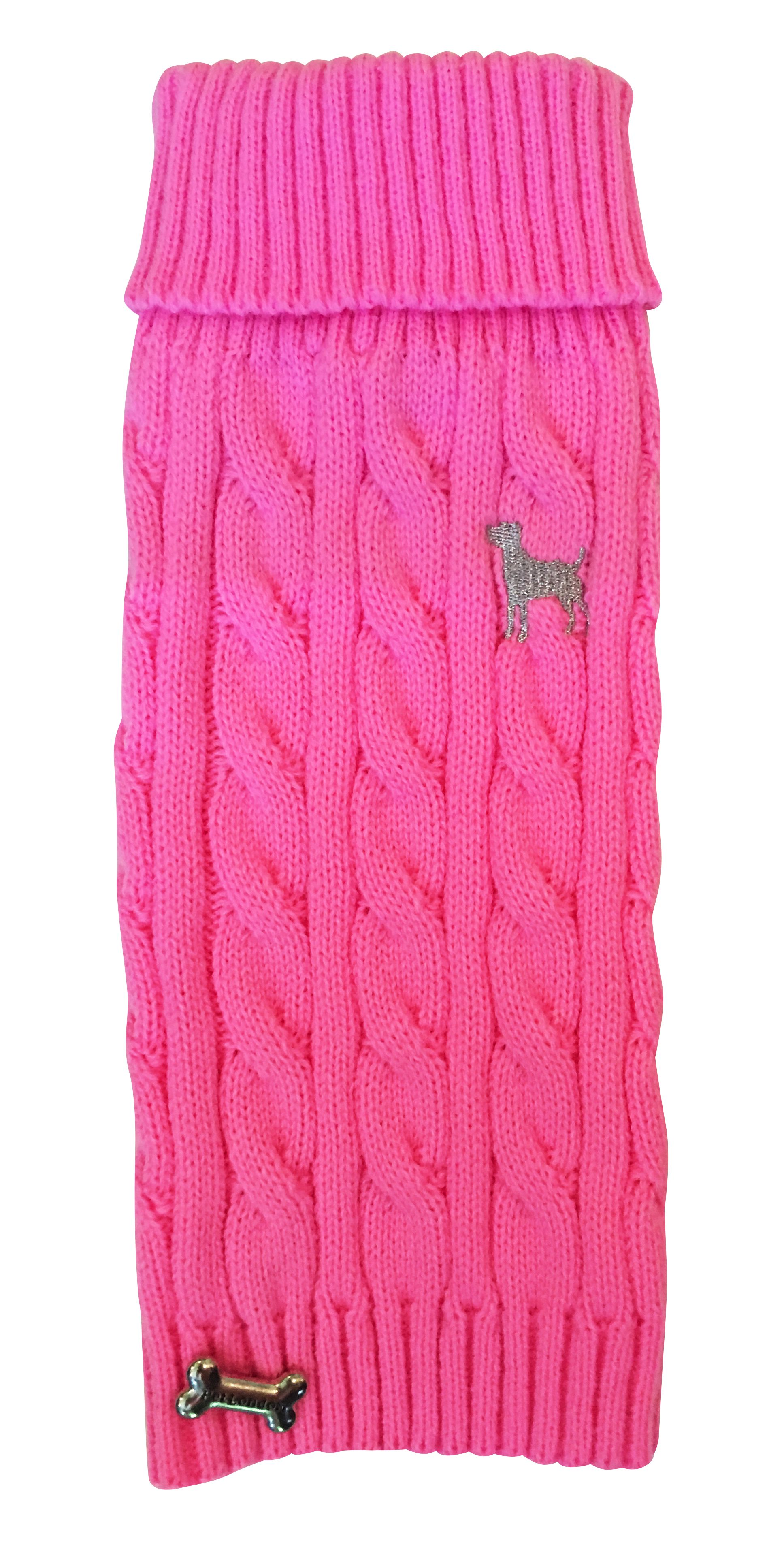 Bubblegum Pink Cable Knit jumper