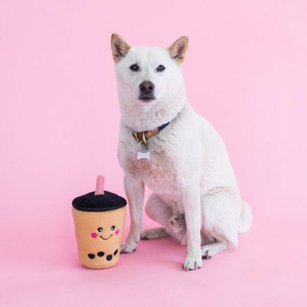 Boba milk tea plush