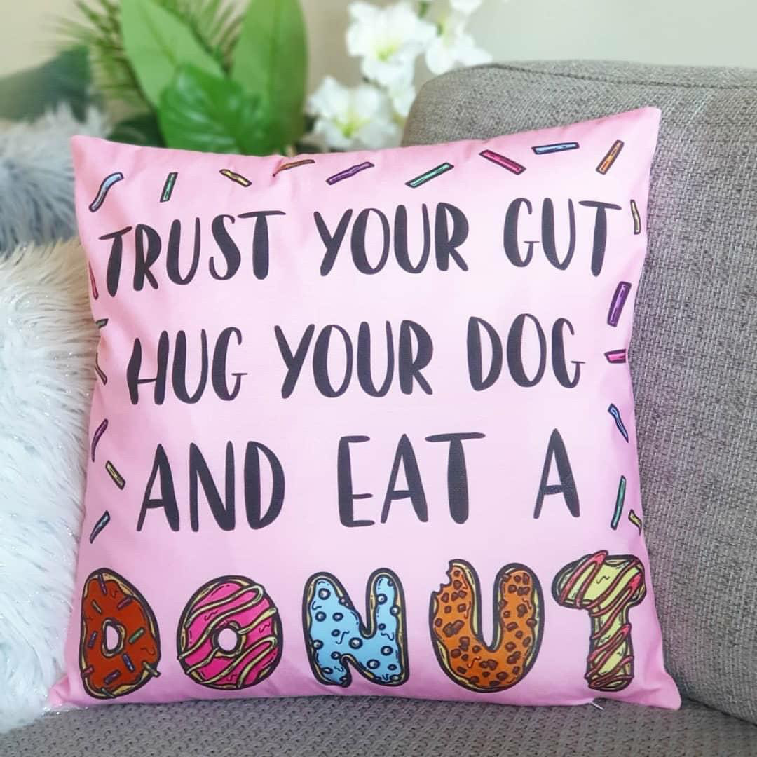 Doughnuts Cushion
