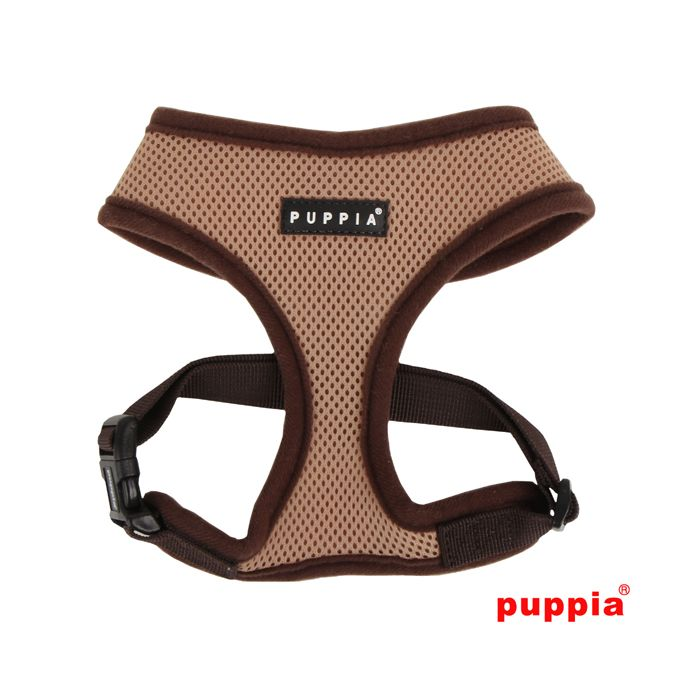 Beige Puppia harness (Overhead)