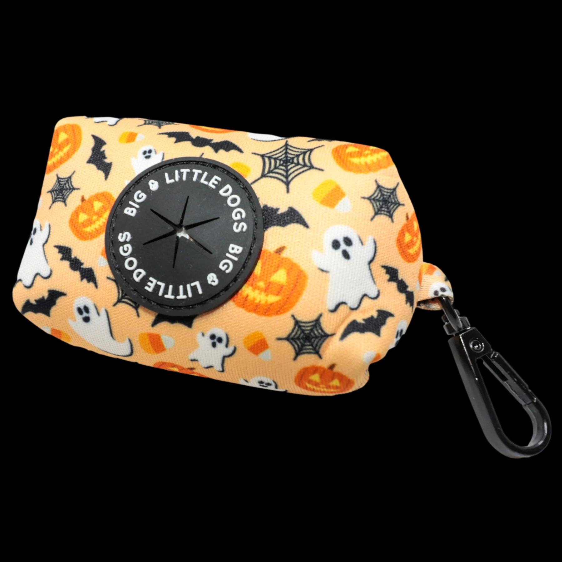 Spooky season poo bag holder