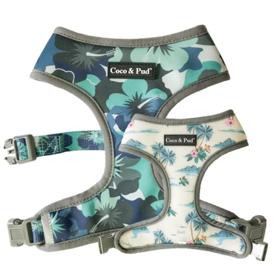 Hibiscus Camo harness (Reversible)