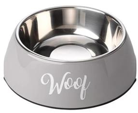 Grey Woof bowl