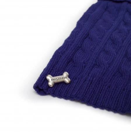 Colbalt Blue Cable Knit Jumper,