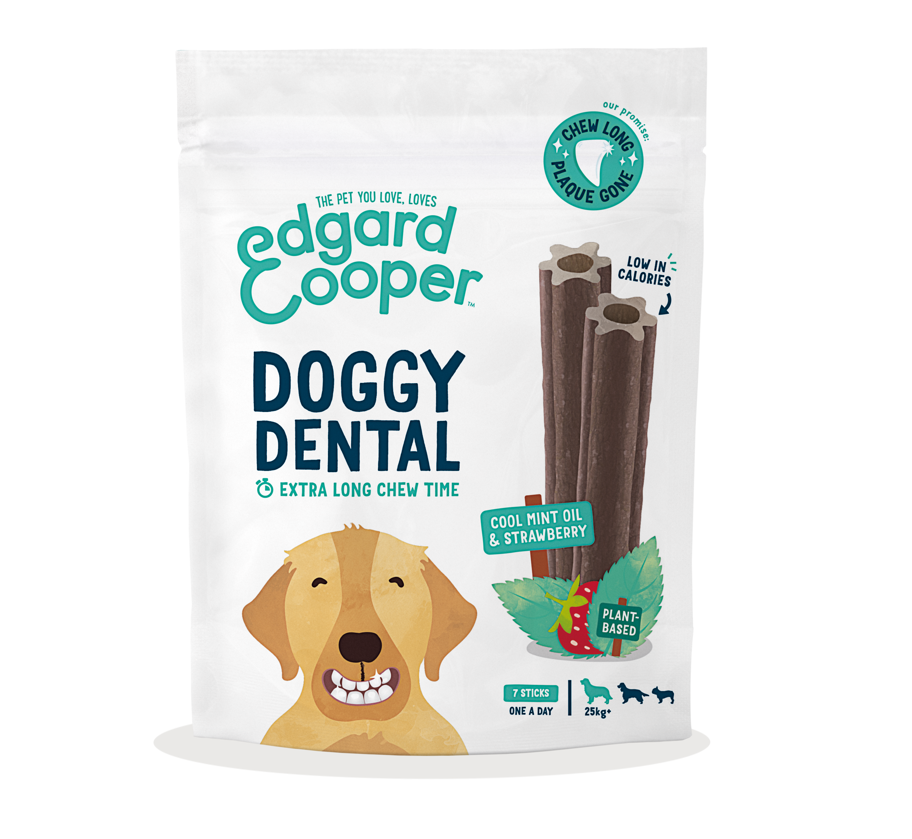 Doggy dental mint & strawberry (Optional Sizes)