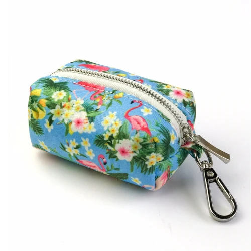 Flamingo tropical - Poo bag holder