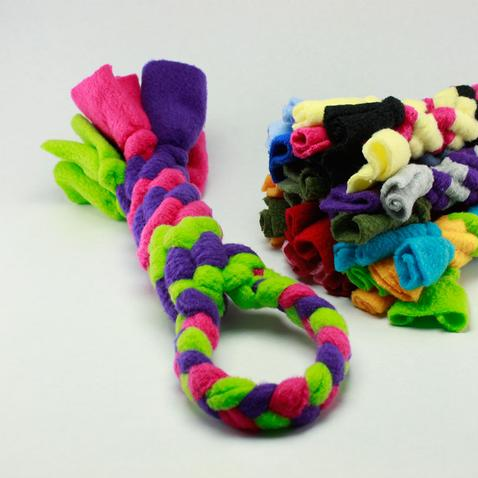 Spiral tug toys