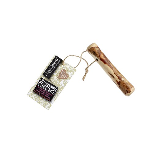 Natural Olivewood chew - Small