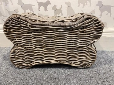 Rattan bone toy storage box