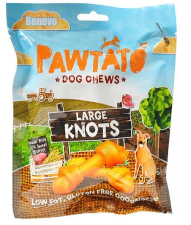 Large sweet potato knots