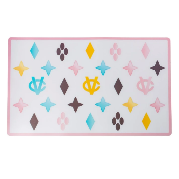 Chewy Vuiton Pastel placemat