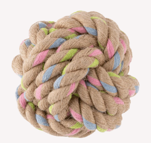 Hemp rope ball