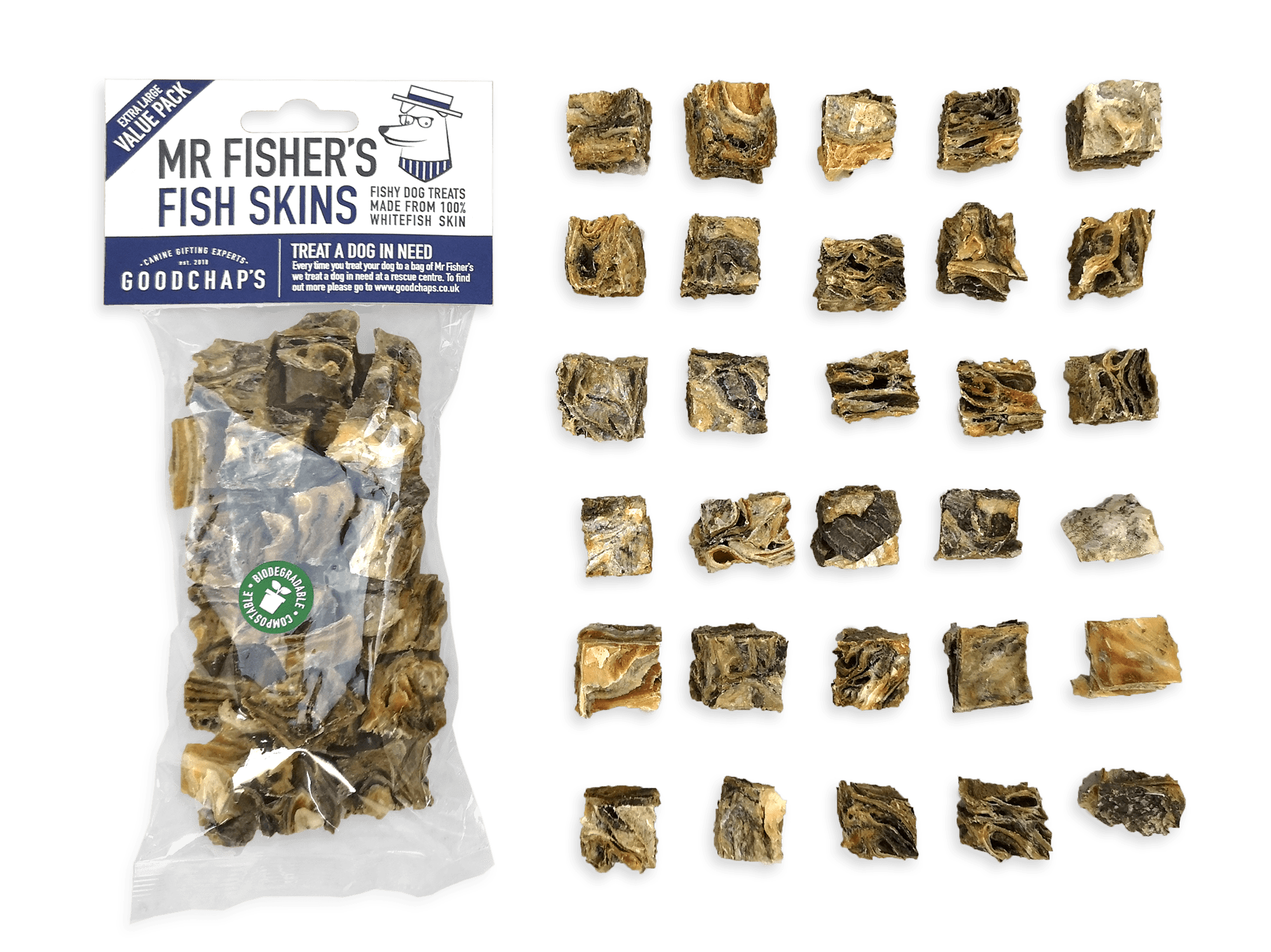 Fish skins value pack