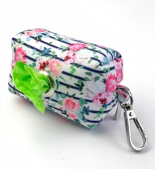 Floral blooms - Poo bag holder