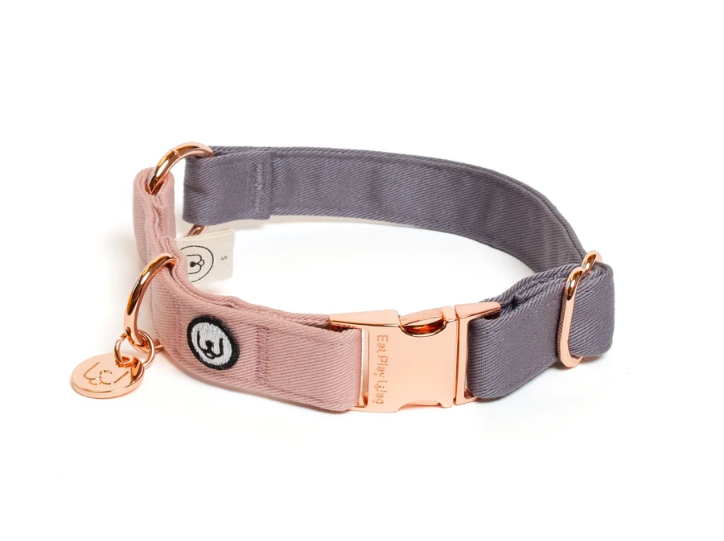 Two toned Grey/Rose Collar