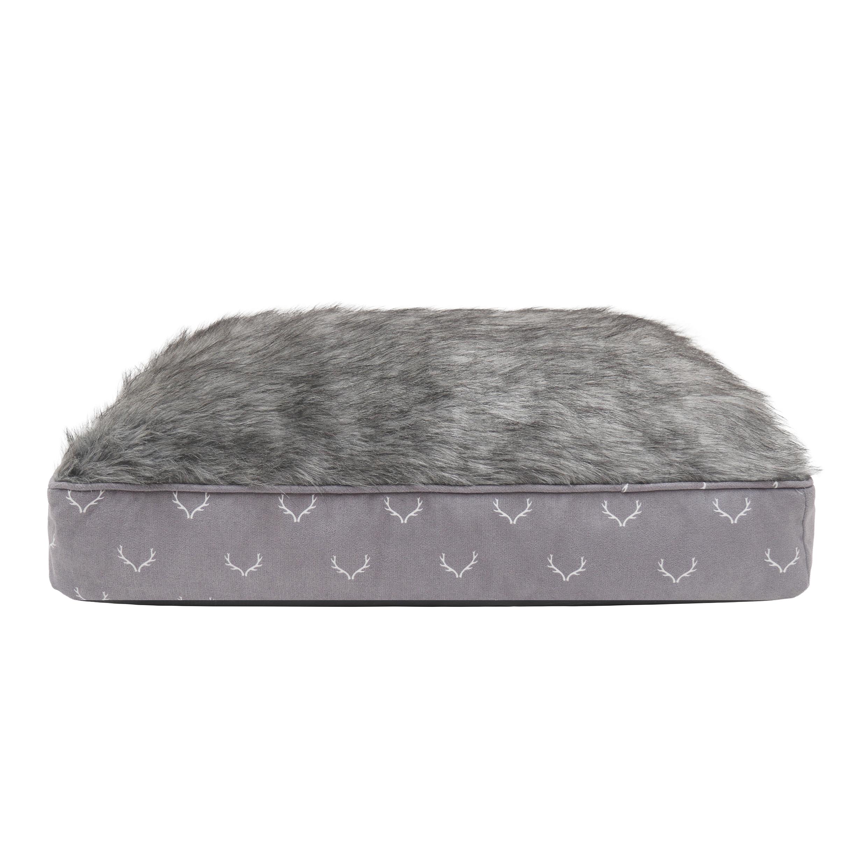 Faux Fur Antler Mattress Bed