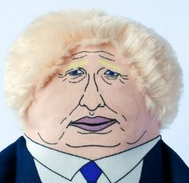 Politicians - Boris Johnson toy