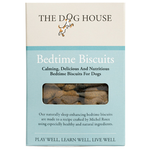 The doghouse bedtime biscuits