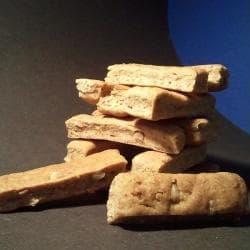 Peanut butter fingers biscuit treats