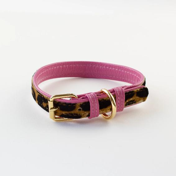 Pink Leopard Lead
