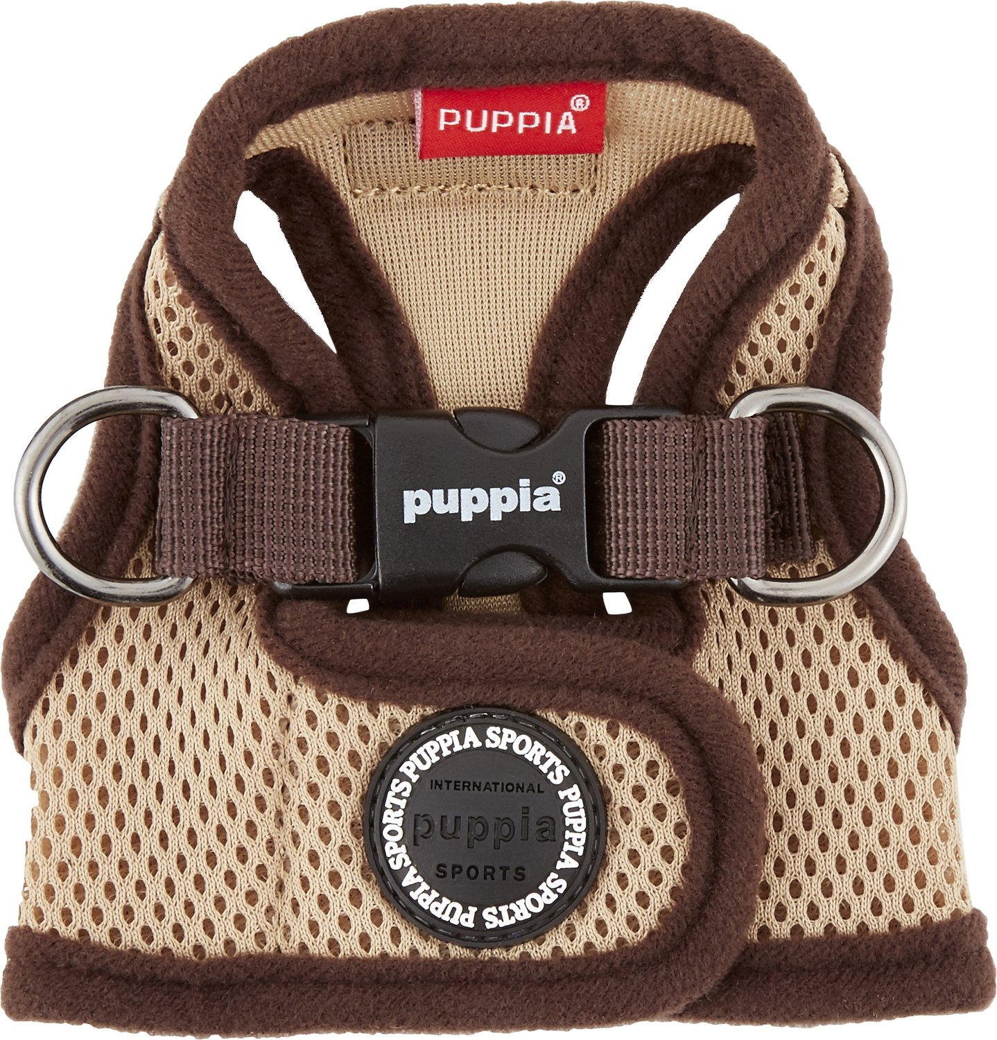 Beige Puppia Jacket harness (step in)