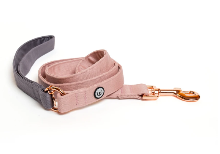 Two toned Grey/Rose Lead
