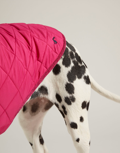 Joules - Newdale quilted coat (Fuschia)