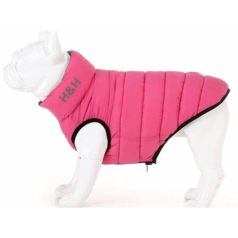Pink & Grey Puffa jacket