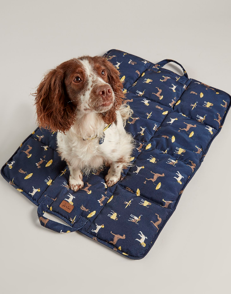 Joules - Dog print travel mat