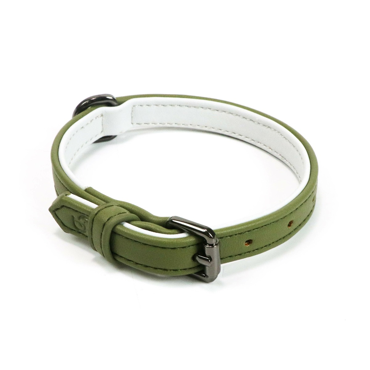 Cambridge collar in Olive
