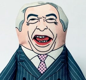 Nigel Farage toy