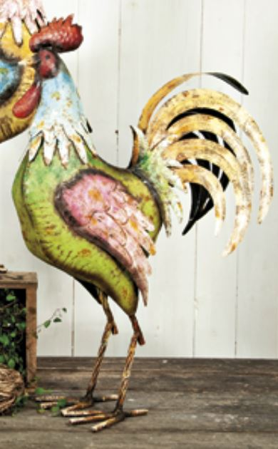 Metal Rooster (Sold Out)