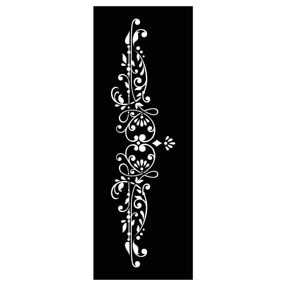 Re-Design with Prima Furniture Stencil /Sjablong - Dalia Crest 6