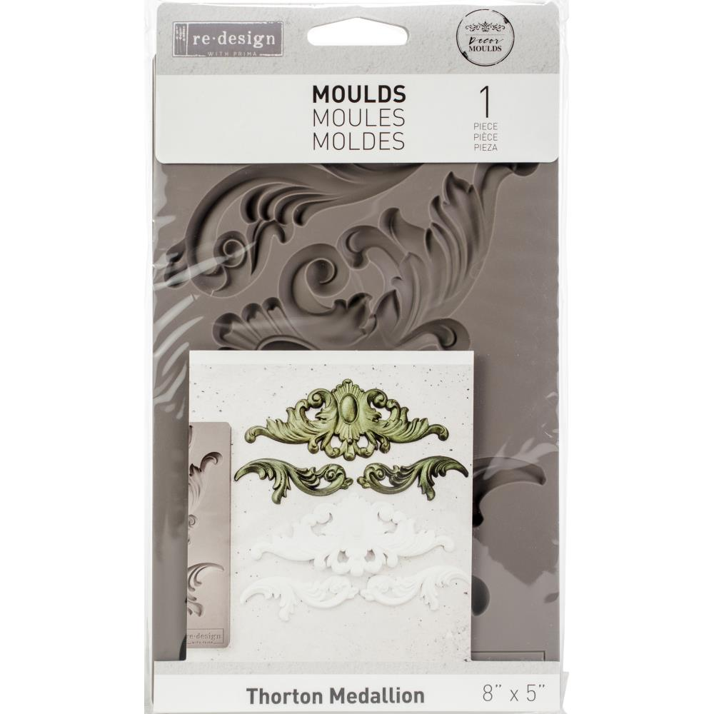 Re-Design with Prima Mould - Thornton Medallion