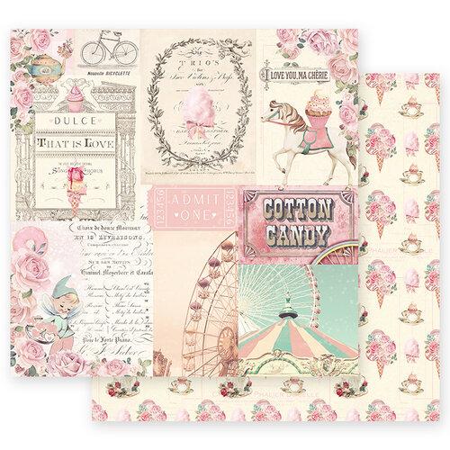 Prima Marketing - Dulce Collection - 12 x 12 Paper - Dulce Sueno with Foil Accents #995584