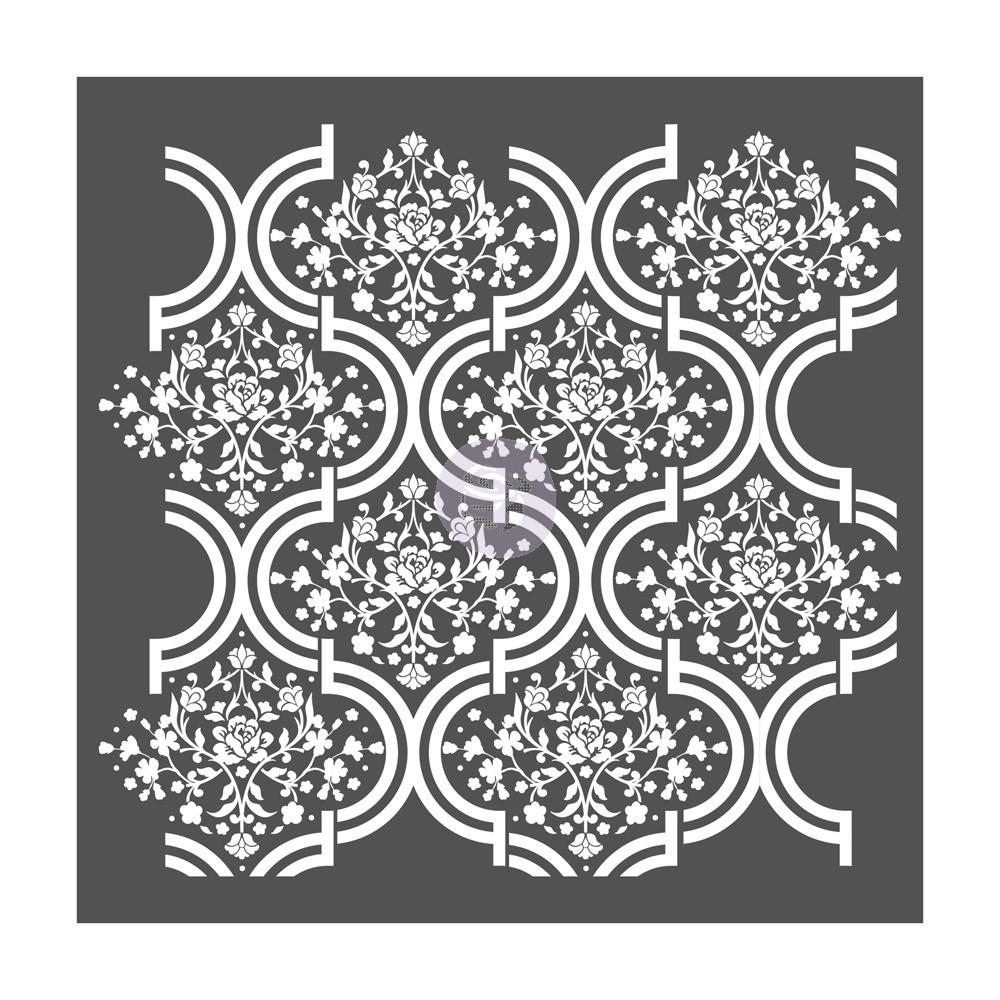 Re-Design with Prima Stencil - Regal Garden 22