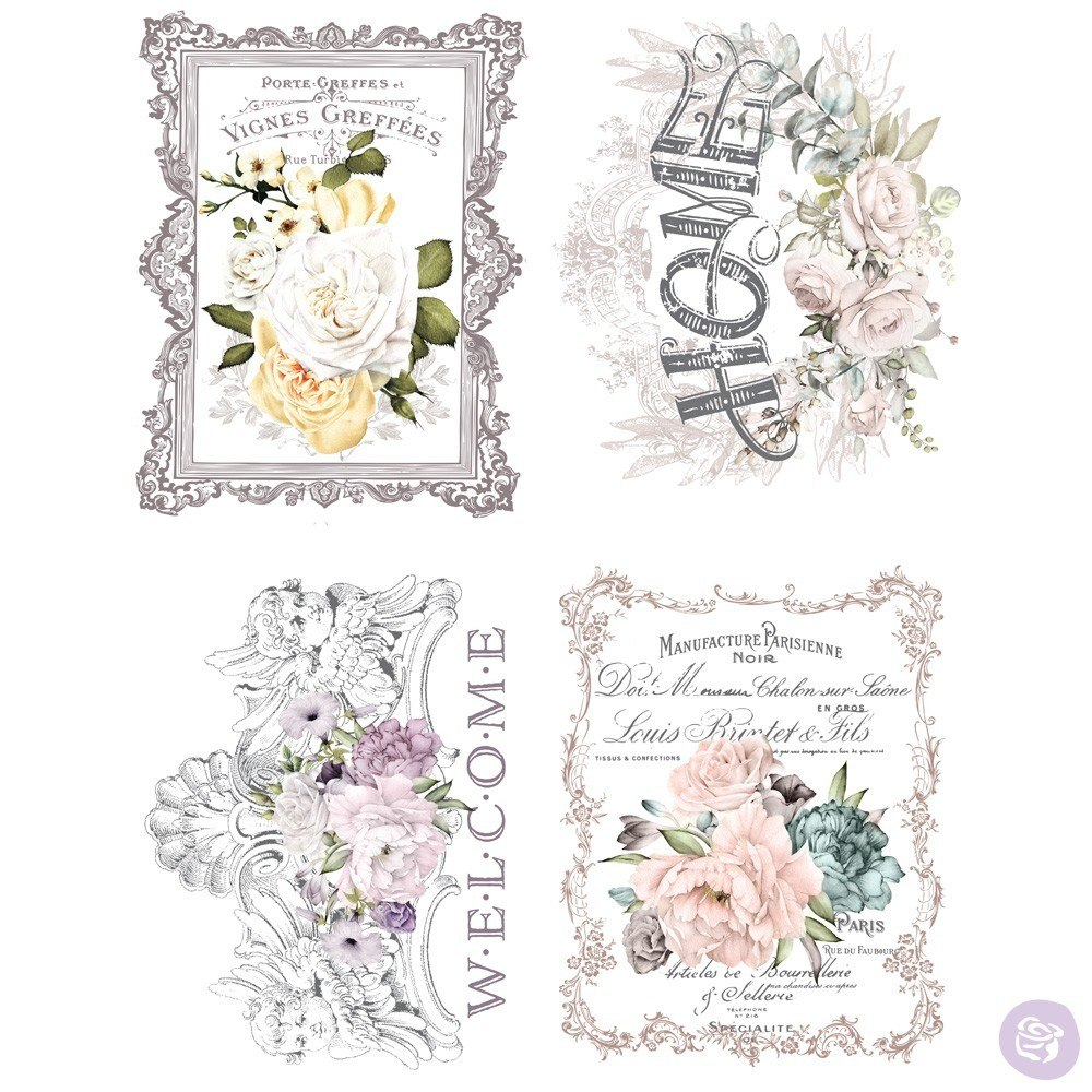 Re-Design with Prima Decor Transfer - Floral Home OUT OF STOCK